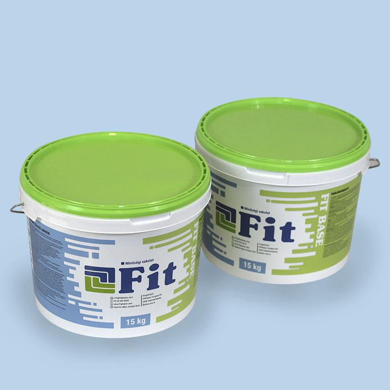 Vakolatalapozó, amelyben nem csalódhat! Minden FIT színező vékonyvakolattal kompatibilis, magyar fejlesztésű anyag.