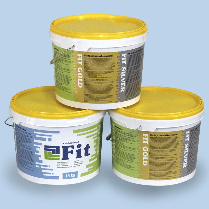 FIT Gold Szilikon minőségi színezővakolat